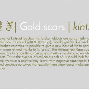 金継ぎ | Gold Scars | Kintsugi