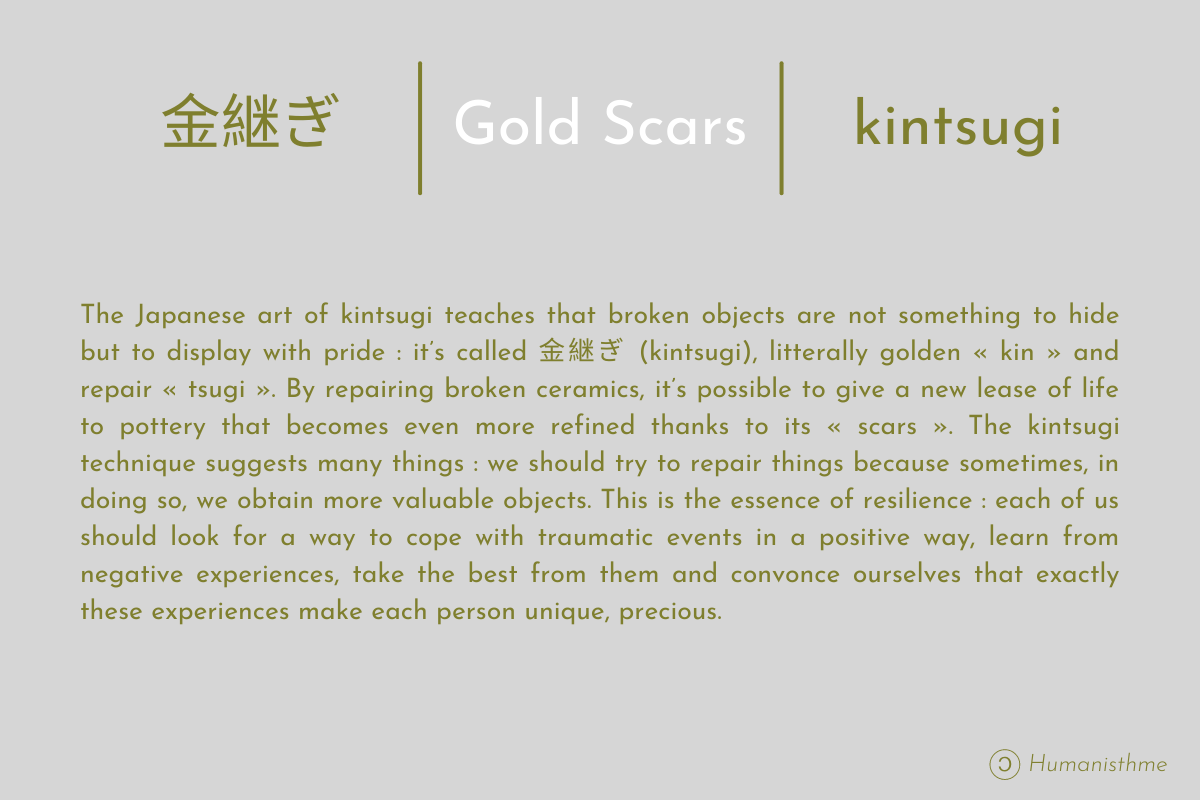 金継ぎ | Cicatrices D'or | Kintsugi