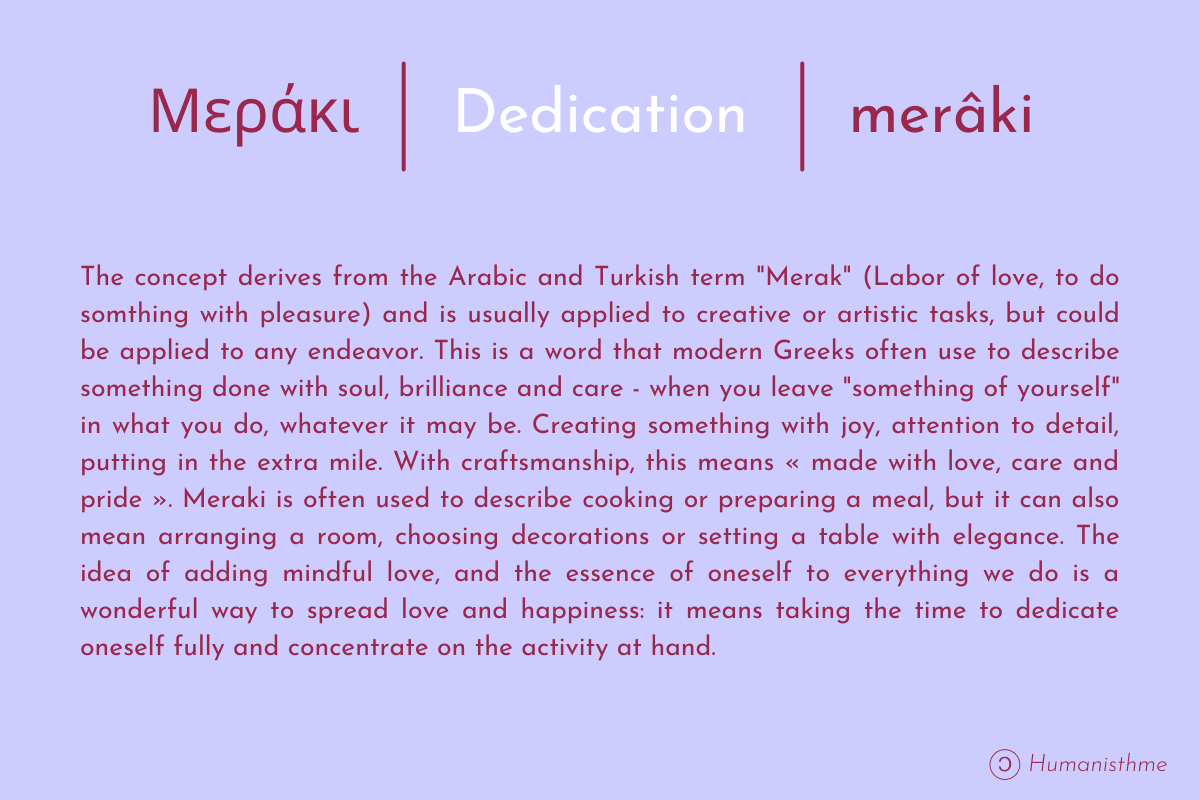 Description Of Merâki's Concept (dedication)