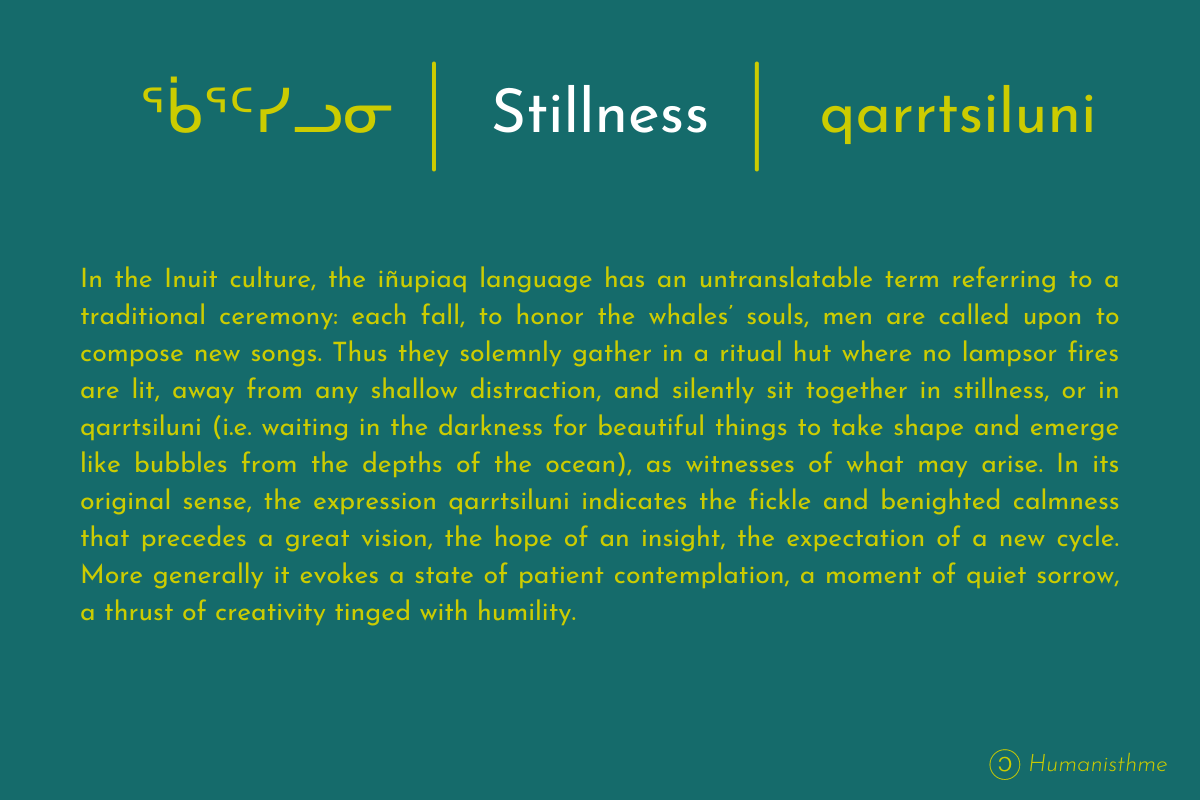 Description Of Quarttsiluni Concept (stillness)