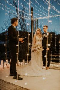 Julien officiates their elopment ceremony